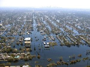 Long Beach, Mississippi, after Hurricane Katrina