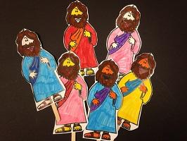 Mini Flat Jesus